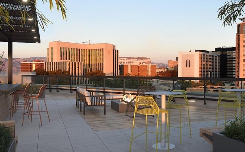 foortop terrace rendering